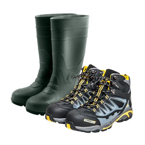 Munkavédelmi cipők és ruhák